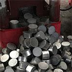 aluminum briquette output