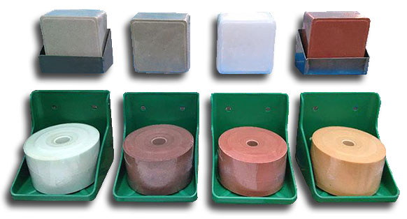 lick salt briquette with different shape and color