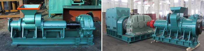 briquette extruder small and large
