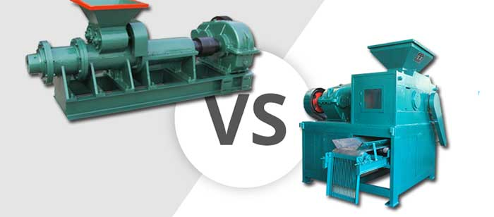 coal briquette extruder vs wet roller briquette machine