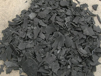 coconut shell charcoal from carbonization furnace