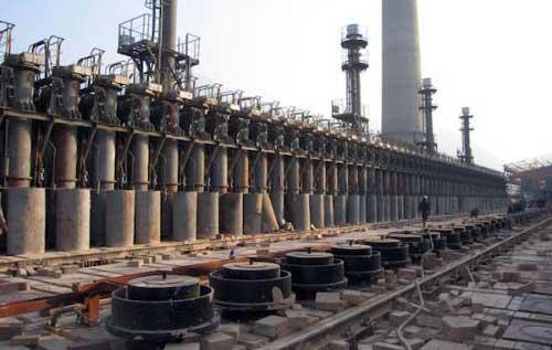 carbonization kiln for coal briquette