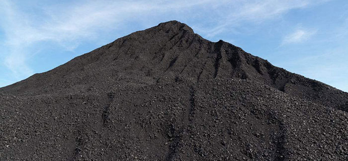 stored coal fine