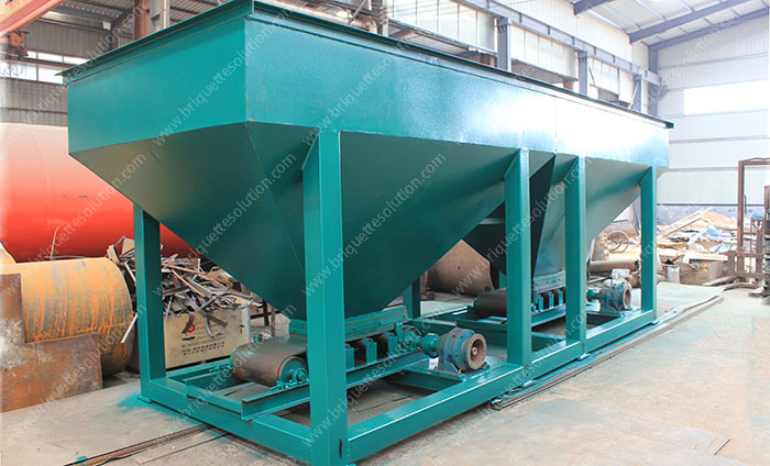 two bins belt dosing machine
