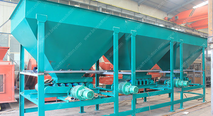 three bins belt dosing machine