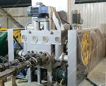 double output sawdust log briquette maker