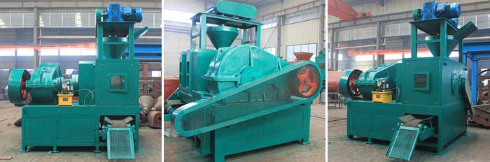 dry powder roller briquette machine model 530