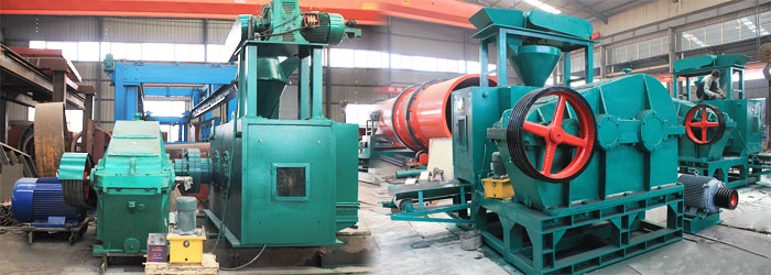 hydraulic roller briquette press