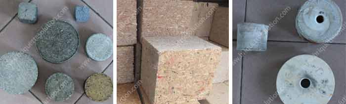 hydraulic briquette product metal sawdust and salt