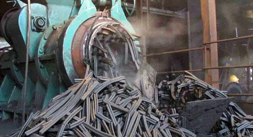 coal bar briquette output from briquette extruder
