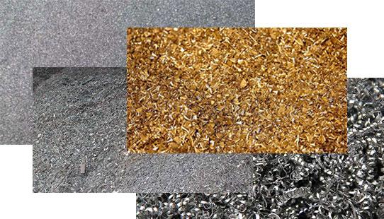 iron waste, steel waste, copper waste and DRI fine