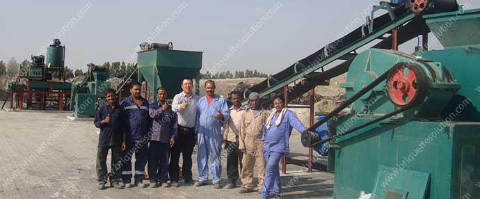 mill scale briquette plant in the Middle East