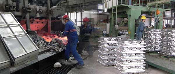 two processes where there will produce aluminum dross