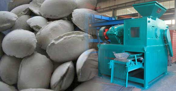 gypsum briquette and roller press machine