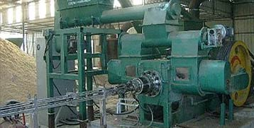 sawdust briquette plant with log briquette maker