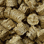biomass log briquette