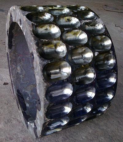 wear resistant steel roller skin