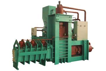 wood chip compactor